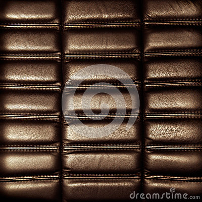 Background brown leather upholstery