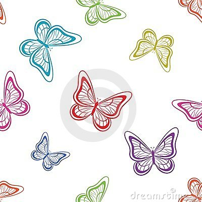 Background, butterflies