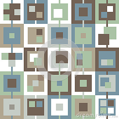 Background in the cell blue green brown white gray