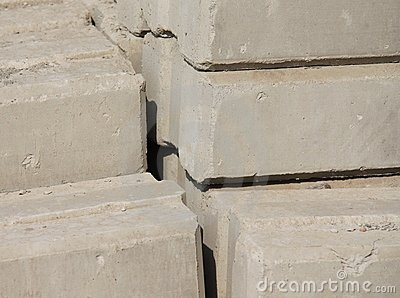 Background of a cement brick
