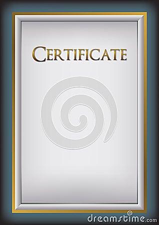 Background certificate, diploma, memorial worksheet menu
