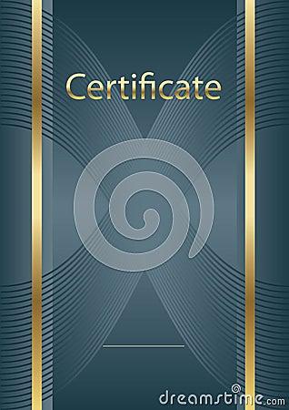 Background certificate model Vector Illustration