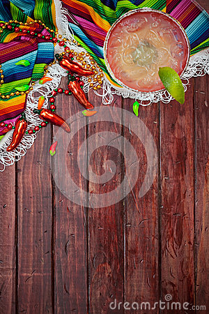 Free Background: Cinco De Mayo Celebration With Margarita Royalty Free Stock Photos - 49479468