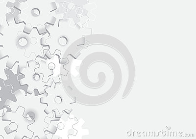 Background with cogs