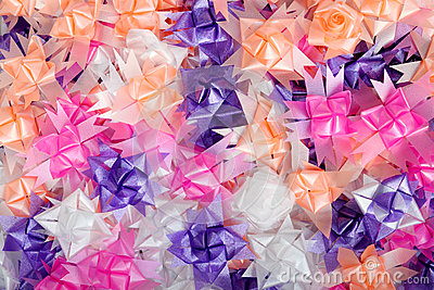 Background color of gift ribbons