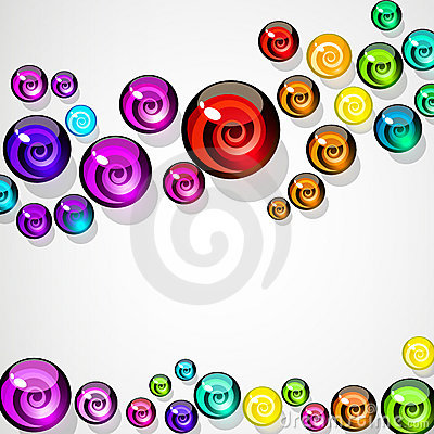 Background of colorful elements.