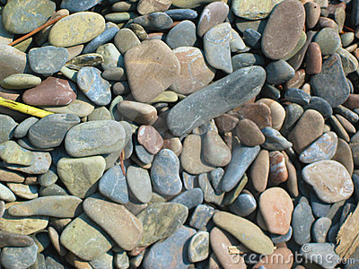 Background of colorful stones