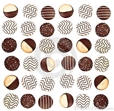 Background of cookies