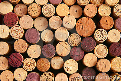Background of corks