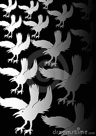 Background Crows
