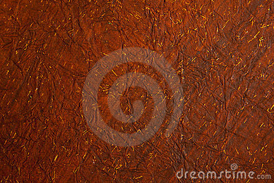 Background of crushed deep reddish brown