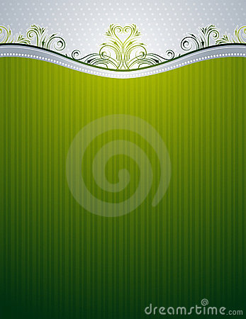 Background with decorative ornaments,