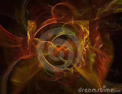 A background design on black with vibrant colors can be adjusted with hue and sat