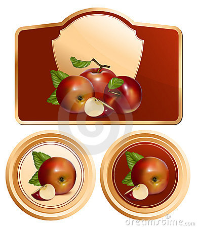 Background for design of packing jam jar