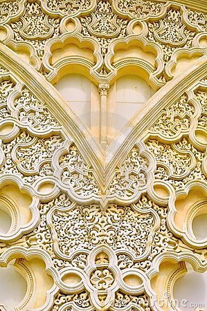 Background of detail islamic architecture
