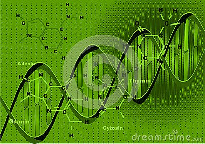 Background with DNA