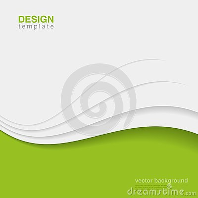 Background Eco Abstract Vector. Creative ecology d
