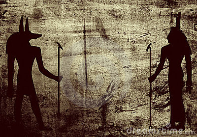 Background egypti grunge mythology symbols wall