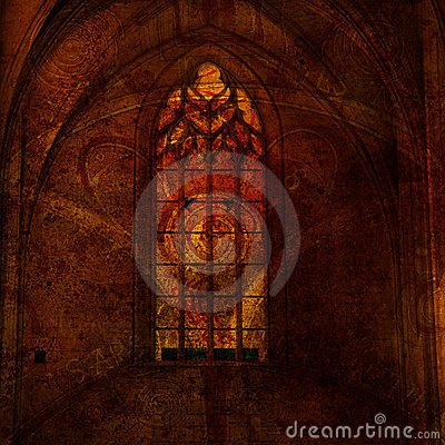 Background with the elements of gothic royalty free stock for Gothic design elements
