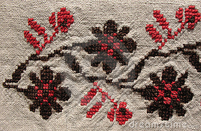 Background. embroidery pattern