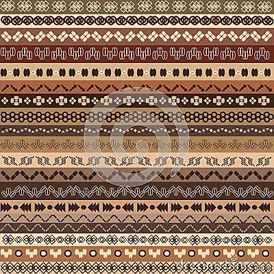 Background ethnic pattern