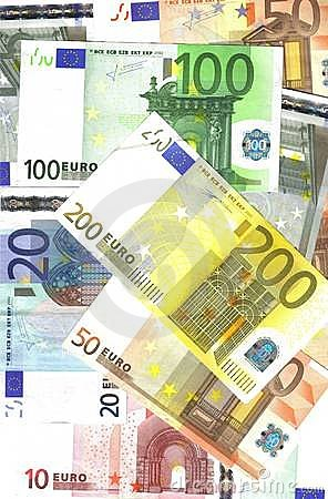 Free Background Euro Banknotes Stock Photo - 7295780