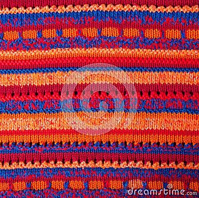 Background fabric knitting machine