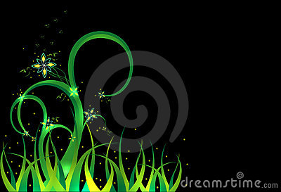 Background - a fairy grass