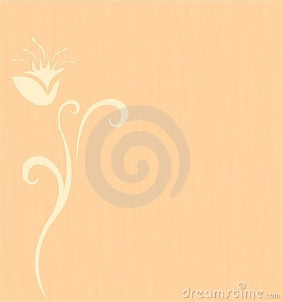 Background with a flower