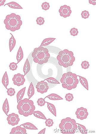 Background of flower