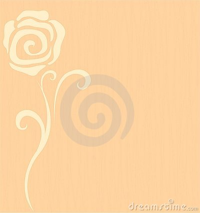 Background with a flower rose