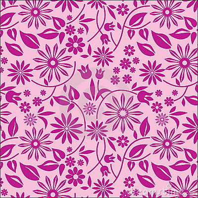 Background flowers 3 - pink