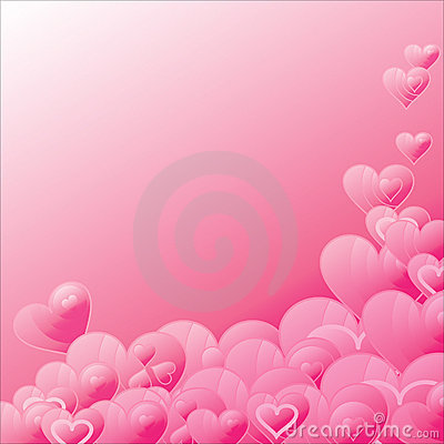 The Background heart.
