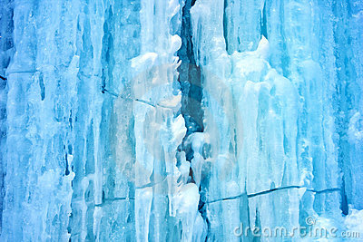 River Water Texture Map Background From Ice An...