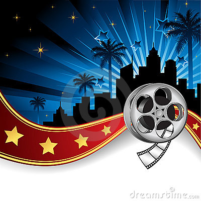 Background Inspired by Film Industry