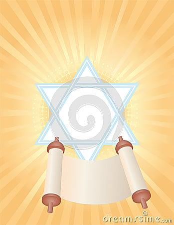 Background of Jewish holiday Simchat Torah