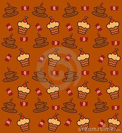 Background with a lace and sweetness