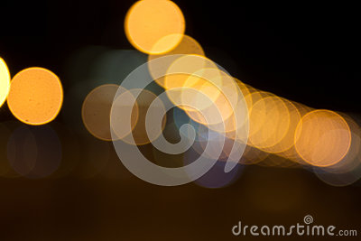 The background of lights