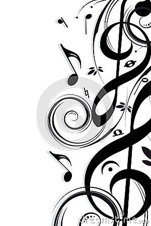 Background Music Royalty Free Stock Photography Image