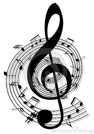 2d music notes