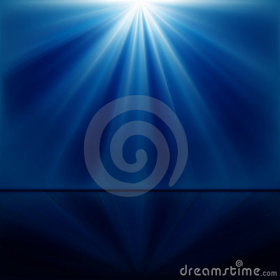 Free Background Of Blue Luminous Rays Stock Photos - 17418953