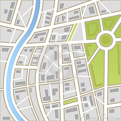 Free Background Of City Map Stock Images - 22573904