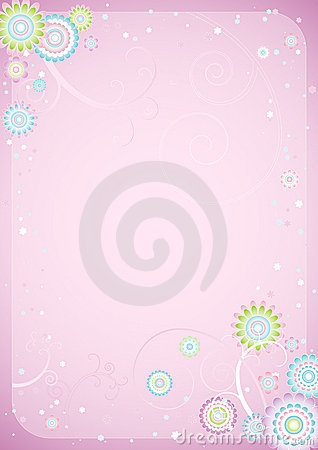 Free Background Of Flowers,vector Stock Photography - 1520482