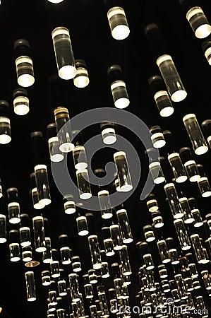 Free Background Of Illuminated Glass Tube Royalty Free Stock Photos - 36778368