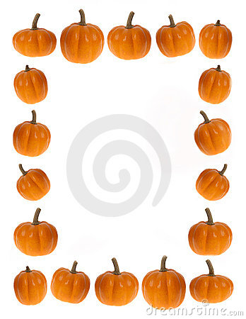 Free Background Or Border Image Of Pumpkins; Food,  Thanksgiving Or H Stock Image - 1403291