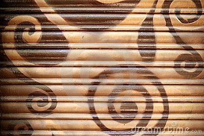 Background painted metal blinds texture