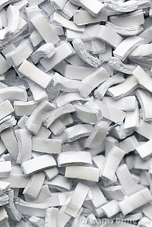 Background of Paper shreds
