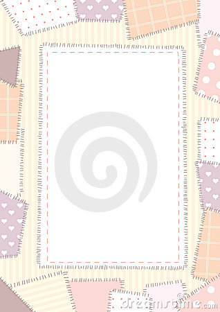 Background pink patchwork