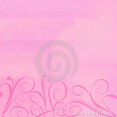 Free Background Pink With Swirlies Stock Photo - 3525090