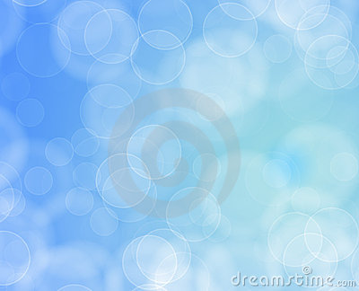 Background of pretty circle shapes